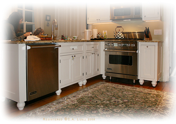Amish Freestanding Kitchen Cabinets